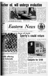 Daily Eastern News: January 19, 1972 by Eastern Illinois University