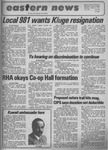 Daily Eastern News: March 04, 1974 by Eastern Illinois University