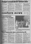 Daily Eastern News: March 05, 1974 by Eastern Illinois University