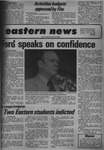 Daily Eastern News: May 10, 1974