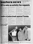 Daily Eastern News: October 15, 1975 by Eastern Illinois University