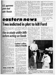 Daily Eastern News: October 21, 1975 by Eastern Illinois University