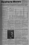 Daily Eastern News: March 20, 1979 by Eastern Illinois University