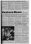 Daily Eastern News: November 16, 1979 by Eastern Illinois University