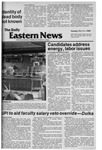 Daily Eastern News: October 21, 1980 by Eastern Illinois University