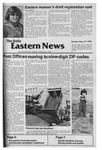 Daily Eastern News: September 29, 1980 by Eastern Illinois University