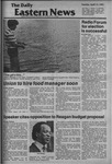 Daily Eastern News: April 14, 1981