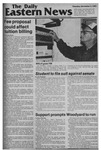 Daily Eastern News: December 03, 1981 by Eastern Illinois University