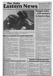 Daily Eastern News: December 11, 1981 by Eastern Illinois University