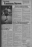 Daily Eastern News: March 16, 1981
