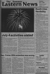 Daily Eastern News: July 01, 1982 by Eastern Illinois University