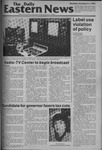 Daily Eastern News: October 21, 1982 by Eastern Illinois University