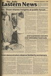 Daily Eastern News: September 01, 1982 by Eastern Illinois University