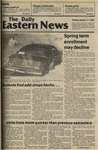 Daily Eastern News: January 17, 1984 by Eastern Illinois University