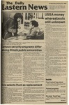 Daily Eastern News: January 25, 1984 by Eastern Illinois University