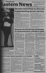 Daily Eastern News: September 10, 1984 by Eastern Illinois University