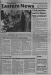 Daily Eastern News: September 26, 1984 by Eastern Illinois University
