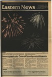 Daily Eastern News: July 08, 1986 by Eastern Illinois University
