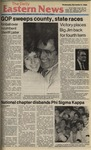 Daily Eastern News: November 05, 1986 by Eastern Illinois University