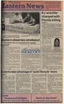 Daily Eastern News: November 21, 1986 by Eastern Illinois University