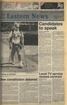 Daily Eastern News: November 02, 1988 by Eastern Illinois University