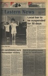 Daily Eastern News: November 08, 1988 by Eastern Illinois University