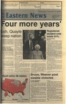 Daily Eastern News: November 09, 1988 by Eastern Illinois University