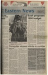 Daily Eastern News: February 10, 1989