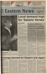 Daily Eastern News: February 21, 1989