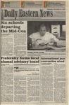 Daily Eastern News: December 09, 1993 by Eastern Illinois University