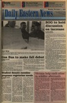 Daily Eastern News: November 01, 1993