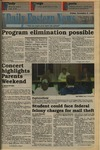 Daily Eastern News: November 05, 1993