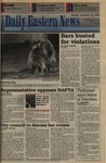 Daily Eastern News: November 15, 1993