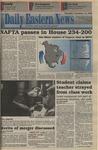 Daily Eastern News: November 18, 1993