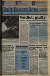 Daily Eastern News: April 29, 1994 by Eastern Illinois University