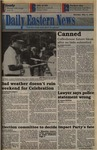 Daily Eastern News: May 02, 1994 by Eastern Illinois University