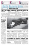 Daily Eastern News: November 01, 1994 by Eastern Illinois University
