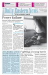 Daily Eastern News: November 07, 1994 by Eastern Illinois University