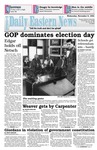 Daily Eastern News: November 09, 1994 by Eastern Illinois University