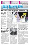 Daily Eastern News: October 07, 1994 by Eastern Illinois University