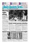 Daily Eastern News: October 03, 1994 by Eastern Illinois University