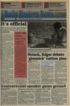 Daily Eastern News: October 24, 1994 by Eastern Illinois University
