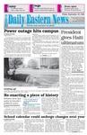 Daily Eastern News: September 16, 1994 by Eastern Illinois University