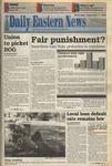 Daily Eastern News: September 07, 1994 by Eastern Illinois University