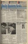Daily Eastern News: September 08, 1994 by Eastern Illinois University