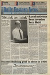 Daily Eastern News: September 14, 1994 by Eastern Illinois University