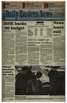 Daily Eastern News: January 09, 1995 by Eastern Illinois University