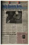 Daily Eastern News: January 17, 1995