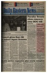 Daily Eastern News: January 18, 1995 by Eastern Illinois University