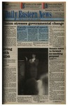 Daily Eastern News: January 25, 1995 by Eastern Illinois University